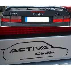 Autocollant Activa Club